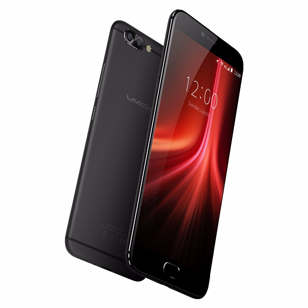 Umidigi Z1 Pro Dual Cameras China Mobile Phone 5.5 inch FHD MTK6757 Octa Core Android 7.0 6GB+64GB 13MP Cam Fingerprint 4G LTE