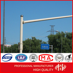 Anti-rust Traffic cctv Camera Monitor Mast Steel Pole Post Control Rod