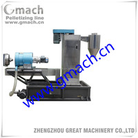water ring pelletizer, plastic granule making machine, plastic granulator