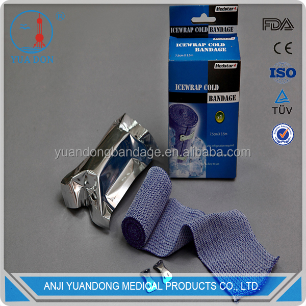 YD best selling products cool ice blue bandage medical