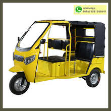 Battery Operated 60v 1200w Moter Drive Electric Passenger Vehicle for 6 People