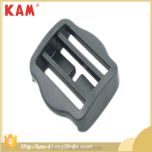 Top quality cheap gray bag accessories ajustable plastic square buckle