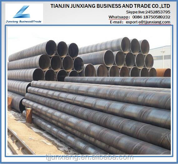 top sell SSAW Spiral Round welded carbon steel pipe or tube