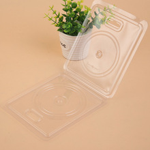 Bottom price customized blister clamshell packaging box for cd