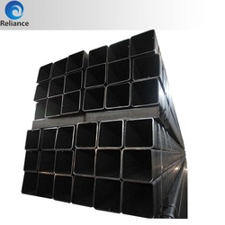 Hollow Section concrete lined rectangle steel pipe
