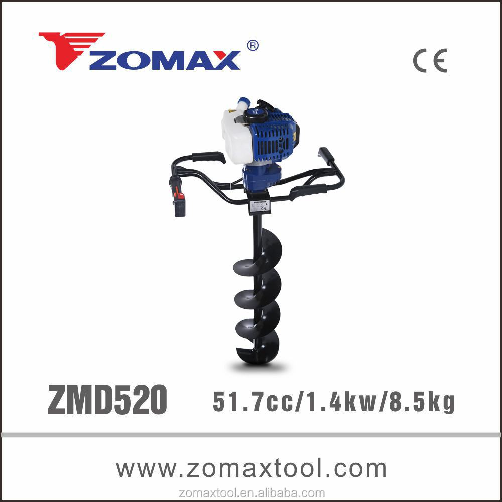 garden tool 52cc ZMD520 electric earth auger for hot selling