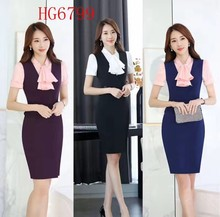 For busy working women matching wedding skirt suits for women linen pants suit