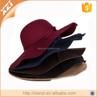 fashion soft fake wool floppy hat hot sale absorptionand daring big breasted hat