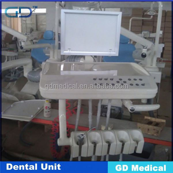 GD Medical DDU-ANNA CE Approved 2014 hot sell computer controlled integral dental unit