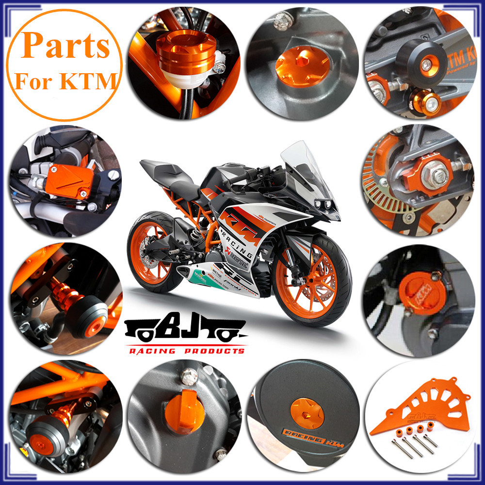CNC Alloy Aluminum manufacturer Hot sale motorcycle accessories for KTM