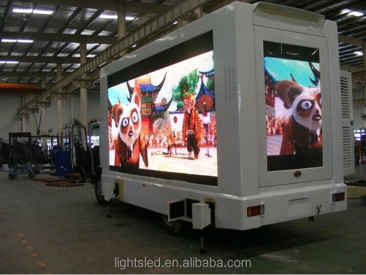 alibaba express cheap price!!! smd p10 mobile truck LED Display Screen
