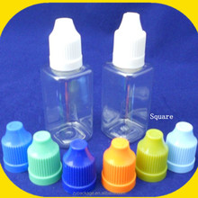 Sell plastic pet square bottle Right choice for essential oil, e juice, e liquid