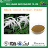 Hot-sale Pure and Organic Black Cohosh Extract with Triterpene Glycosides 2.5%,5%,8%for Antibacteria and Anticancer