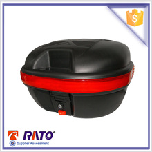 Universal black ABS material motorcycle tail box for sale