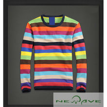 2013 High Quality New Design Fashion Men's Knitted Long Sleeve Sweater For Men
