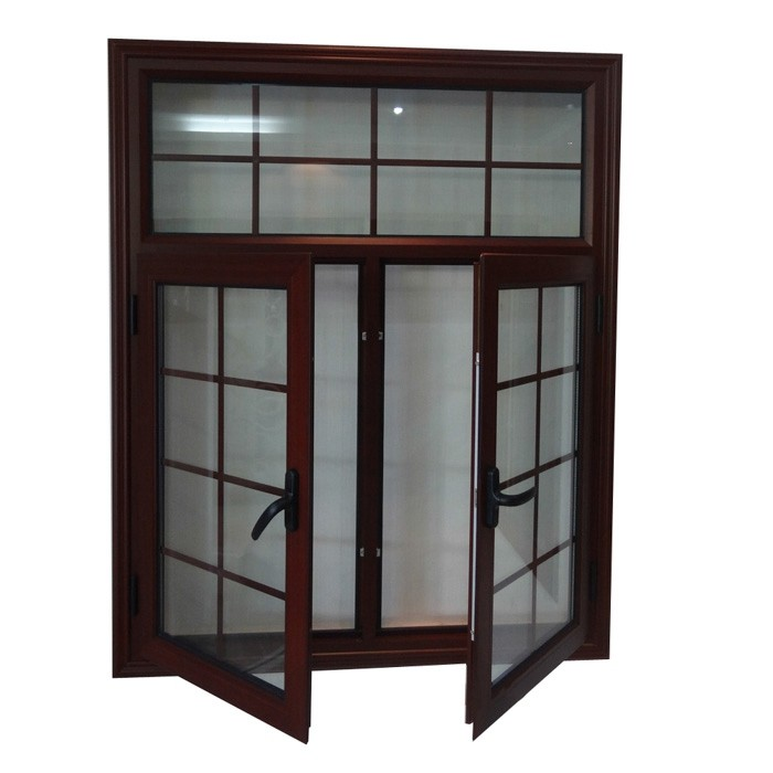 Aluminum casement window grills design pictures
