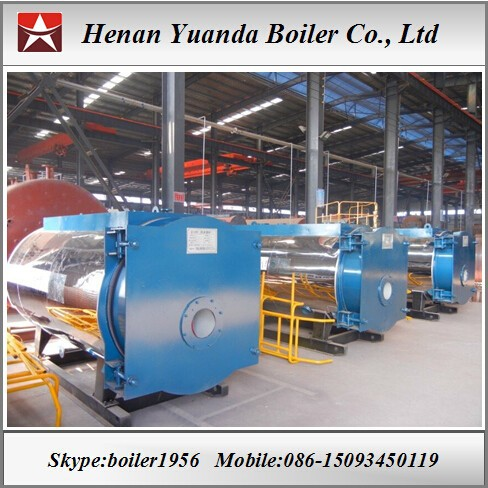 100 hp Coal/oil/gas/biomass steam boiler