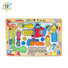 New design kids indoor pretend play set plastic mini toy tools for sale