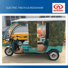 bajaj india adult tricycle 48v 850w trike with 24 tubes