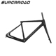 Super Light Chinese Cyclocross China Bicycle BSA BB86 Thru Axle 12*142mm Disc Bike Carbon Frame Gravel Monocoque 700C