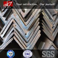 Tangshan factory types of angle iron, steel angle iron weights