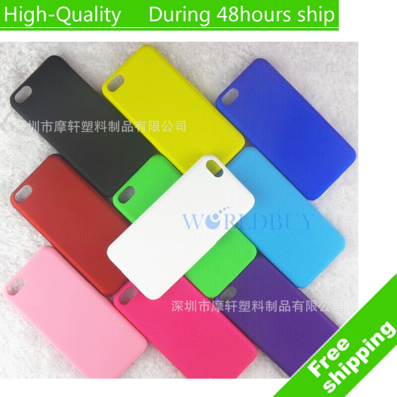 For iPhone 5C Ultra Thin Scrub Phone Shell Frosted Plastic Matte Hard Back Case Cover Protective Shell