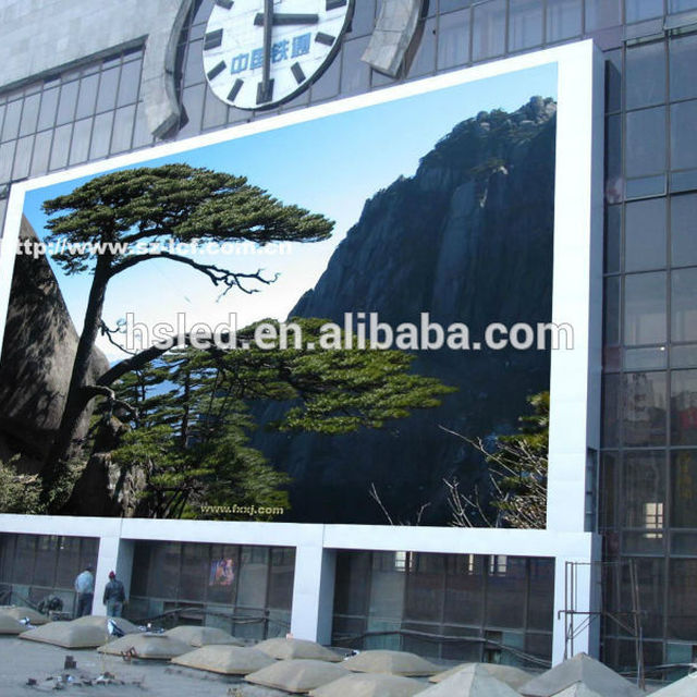 outdoor programmable led curtain display