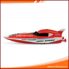 China factory customized tourism kid child red advanced plastic rc boat