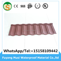 Stone coated metal roofing tiles roofing steel sheet price