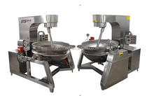 gas cooking mixer, industrial cooking pot, planetary mixer