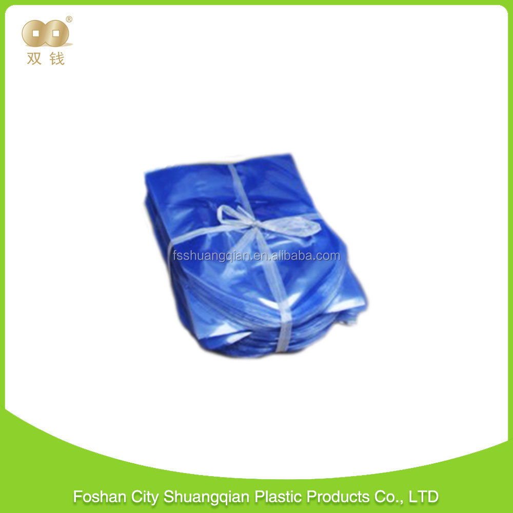 transparent 20mic PVC dome shrink package bags for Packing
