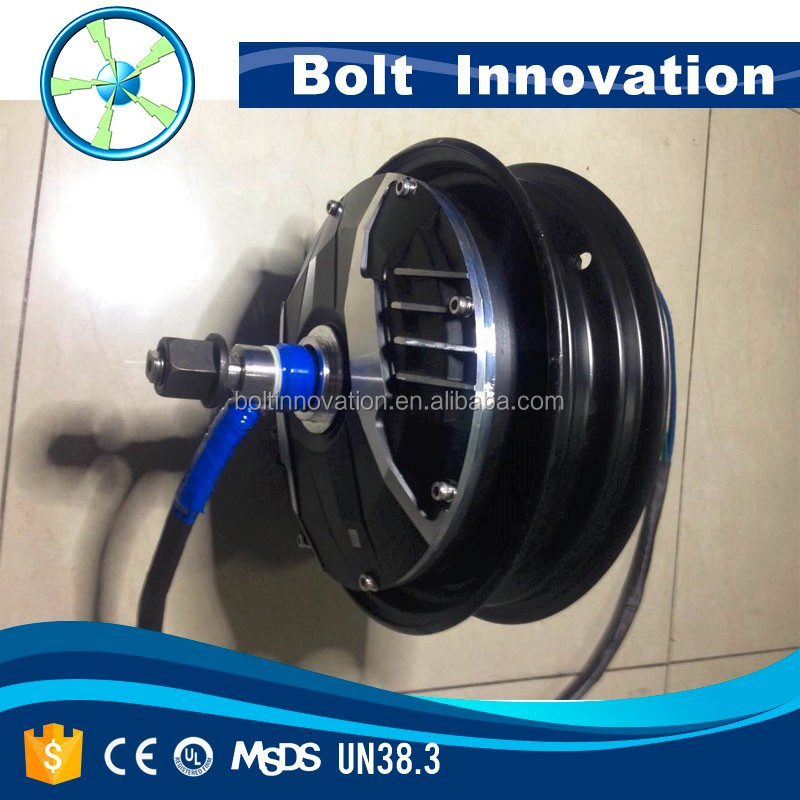 high torque brushless dc scooter hub motor 3KW to 20KW