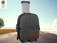 Fashional Cute Jacquard Wheeled Trolley Luggage Suitcase Zebra Stripe