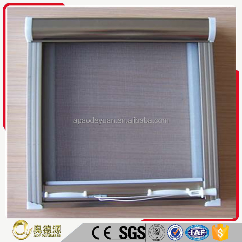 AISI 304 316 stainless steel bulletproof wire mesh / soundproof window screen