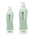 280ml PE shampoo bottle with lotion pump