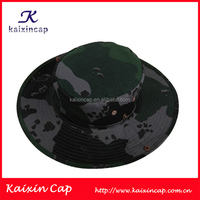Camouflage Style High Quality Camo Fabric Hunting Bucket Hat In Various Colors Wholesale