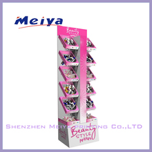 Shenzhen hot sale high quality custom cardboard nail polish display for retail