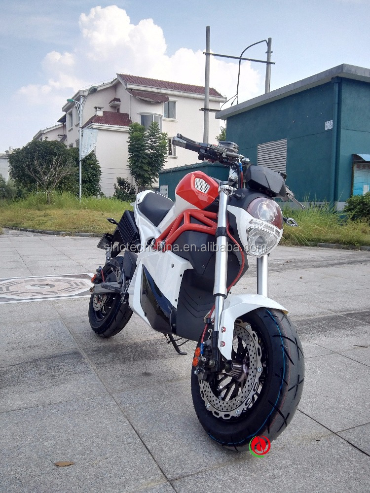 Hot factory price 2000W cool sport racing electric motorcycle for sale