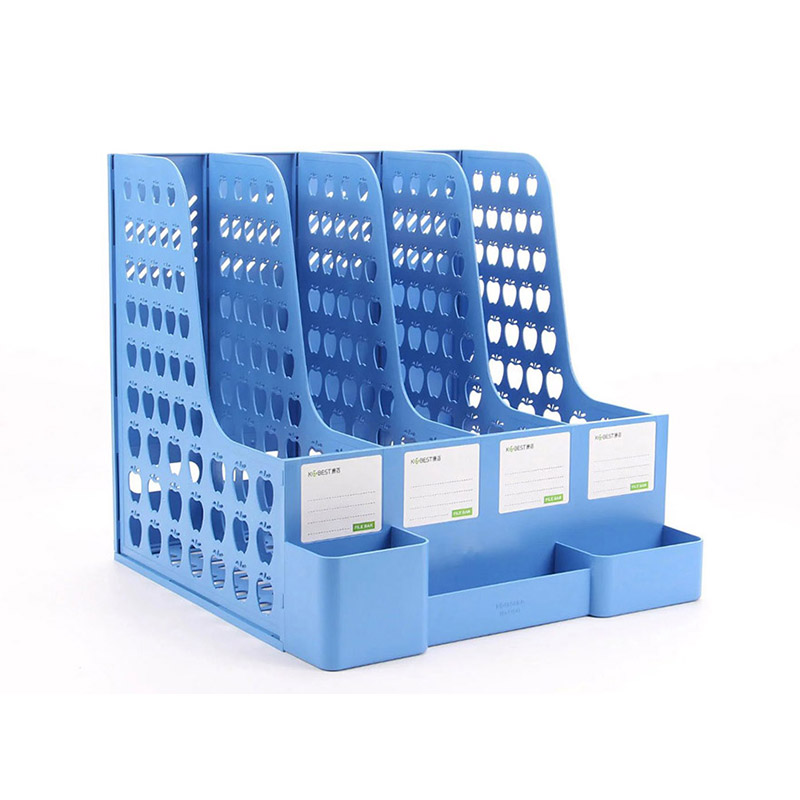 OEM office plastic 4 tiers document file tray