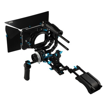 Fotga DP3000 QR A/B stops follow focus 15mm rod rail baseplate swing-away matte box top handle bracket shoulder rig handle grip