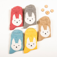 dog womens socks fashion breathable cotton lovely socks women