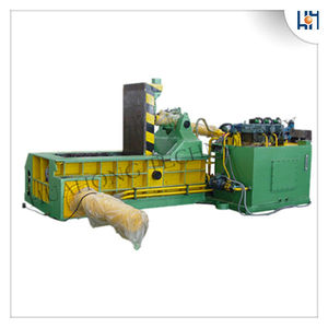Good Quality Automatic Control Aluminum Scrap Baler Tyre Recycling Machine(CE SGS)