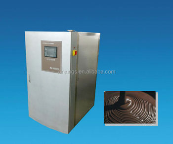 TW300V-five zone automatic continuous chocolate tempering machine
