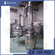 China stainless steel vacuum evaporation machine milk evaporator