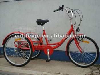 Shimano 6speed shopping tricycle/cycle/trike
