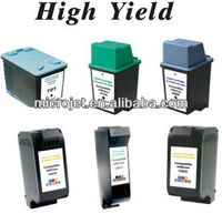 High Yield, Compatible Inkjet Print Cartridges - For HP ink jet Printer