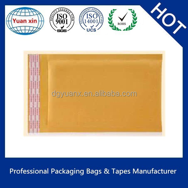 Self Sealing Kraft bubble Mailers Envelopes/Customized Poly Mailer/Courier Bags