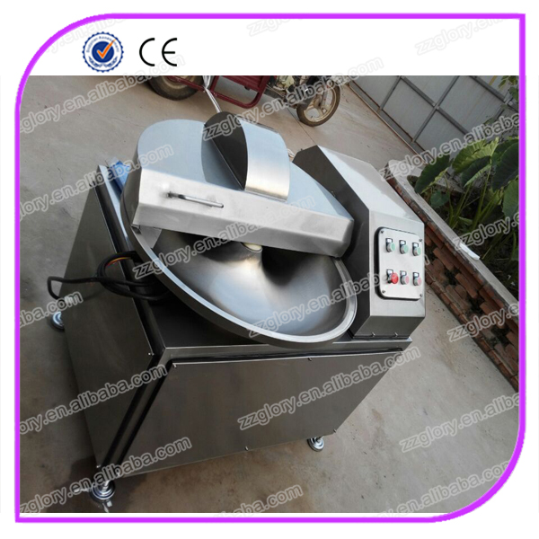 High speed Bowl cutter/sausage making machine/meat chopper mixer machine