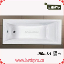 Guangdong good price white color hotel tub
