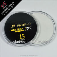 Alibaba sales environmental protection high quality clear plastic coaster